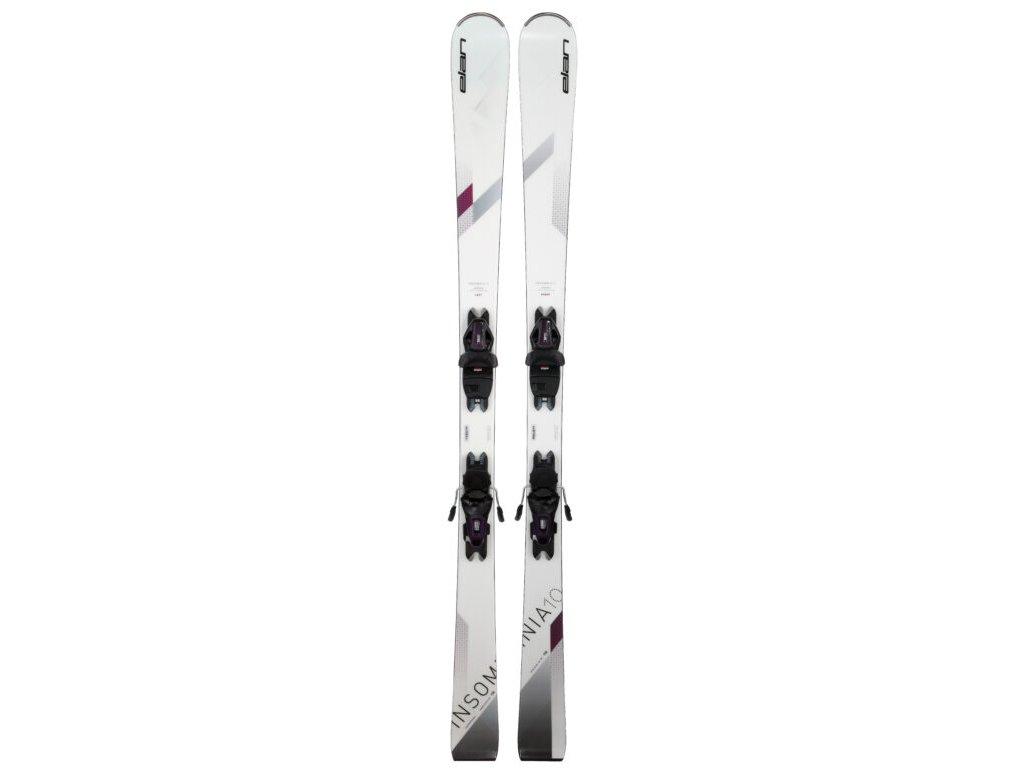 Sjezdové lyže Elan INSOMNIA 10 WHITE LS + vázání  ELW 9 150 cm