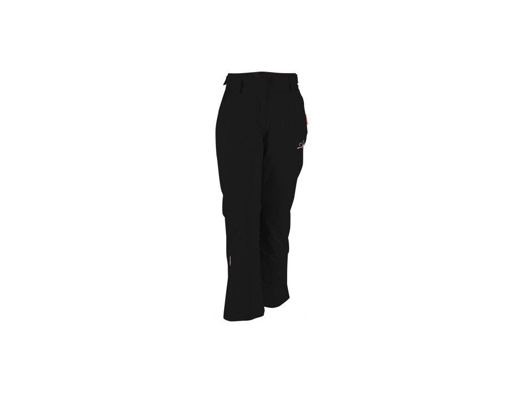 RANSBY ECO - dámské lyžařské kalhoty - černé