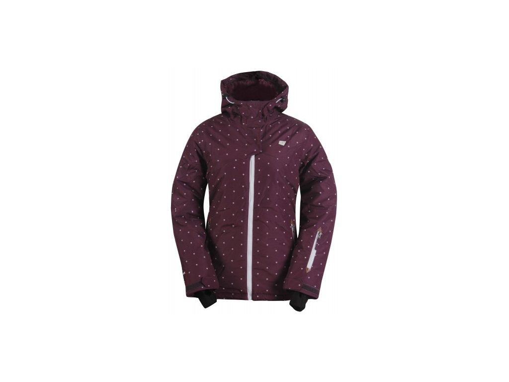STALON -dámská zimní lyžařská bunda - fialová