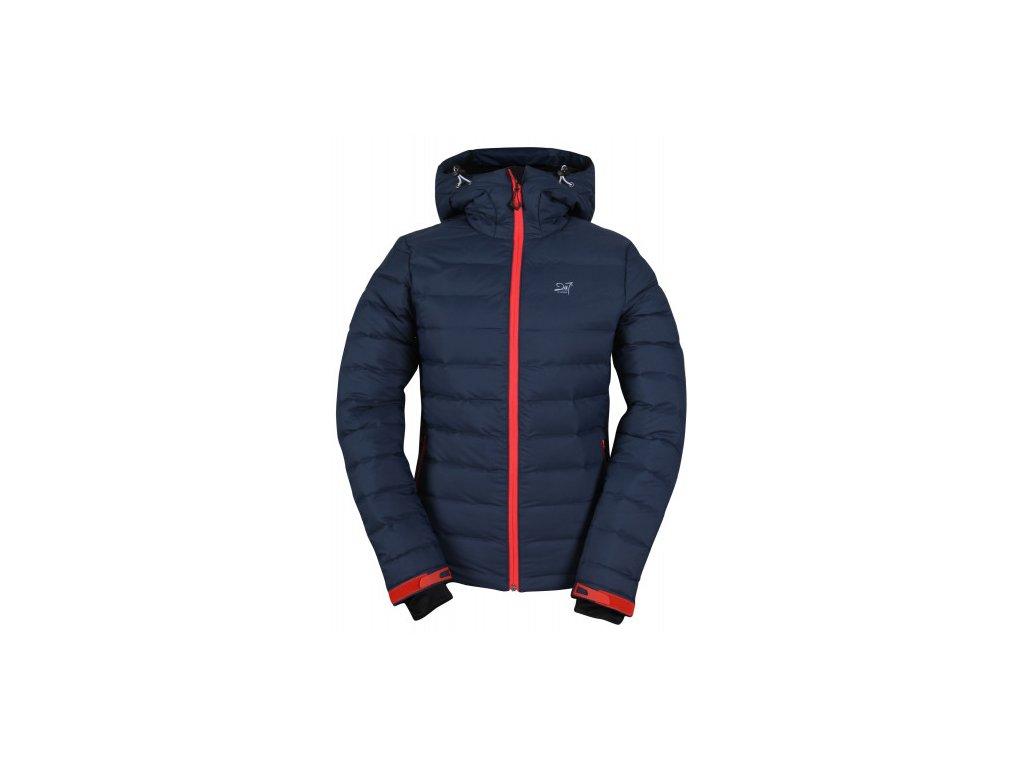 MON - ECO dámská lyžařská bunda - modrá