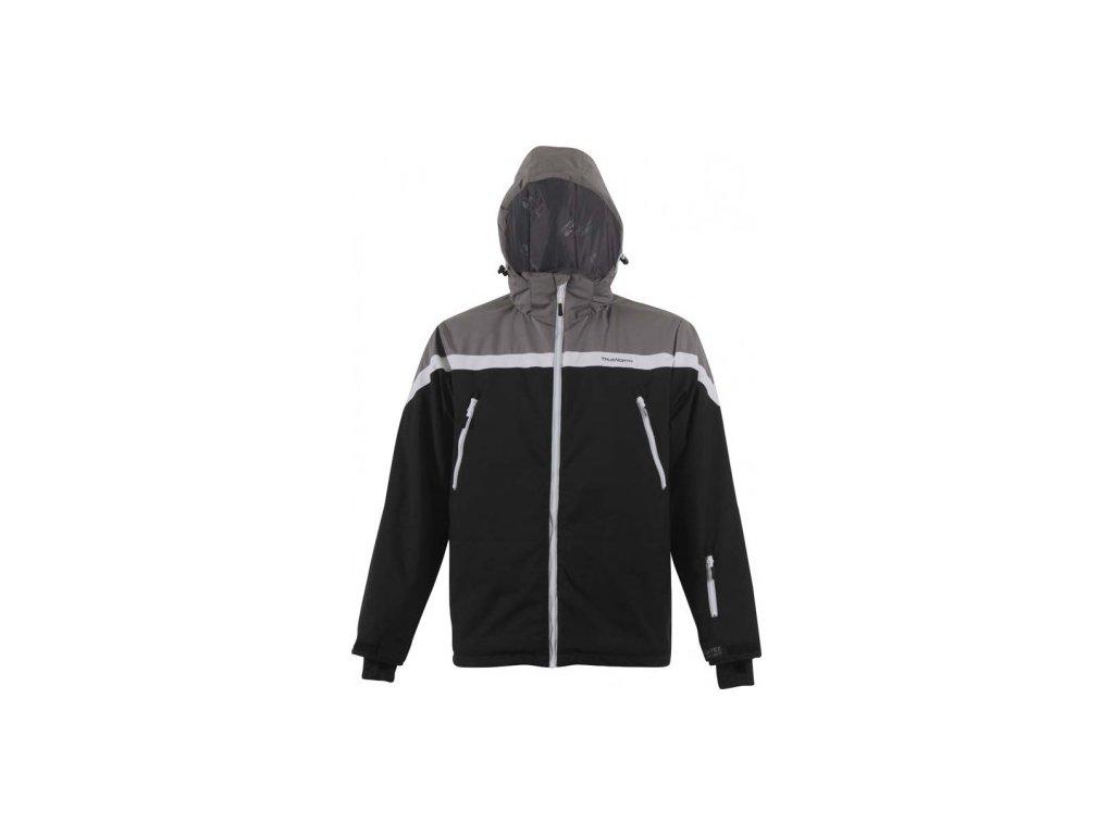 Strečová lyžařská pánská bunda True North - černá