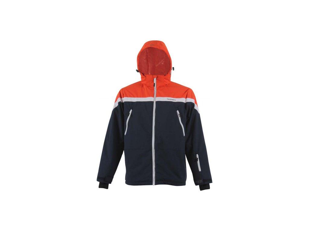 Strečová lyžařská pánská bunda TN - modrá