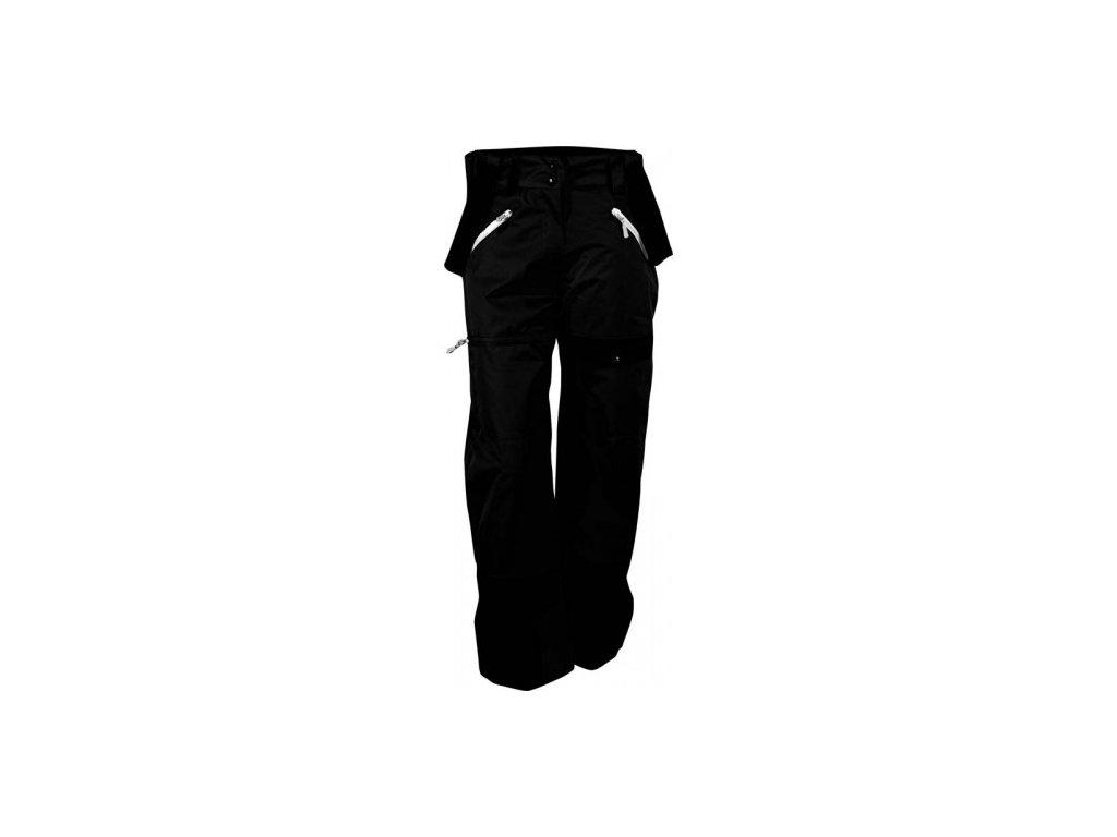 Lyžařské kalhoty True North dámské - černé