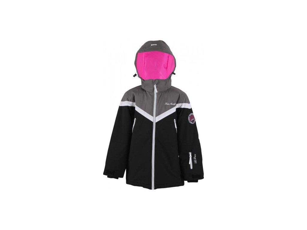 Dětská lyžařská bunda True North Black