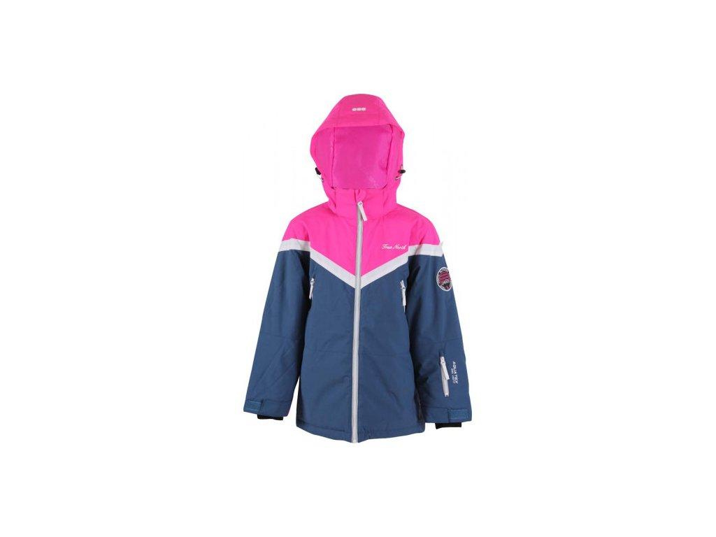 Dětská lyžařská bunda True North Mid. Blue