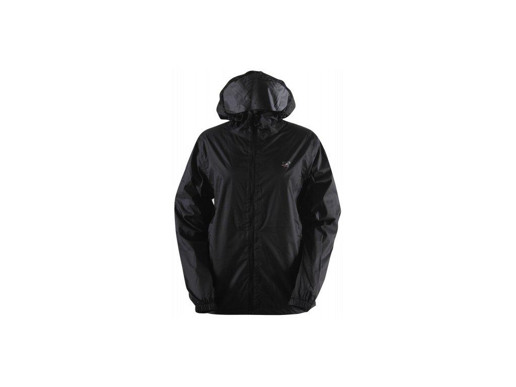 VEDUM - dámská bunda do deště - černá
