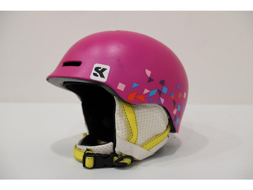 Dětská helma Atomic růžová velikost XS