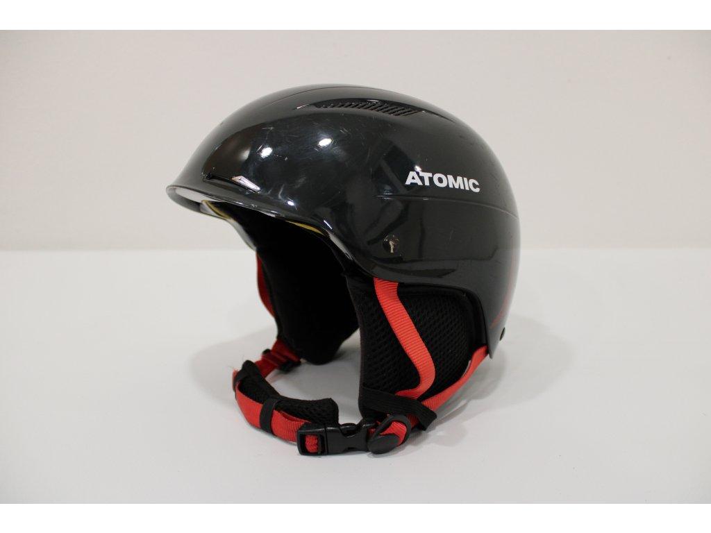 Helma Atomic černo/červená velikost M