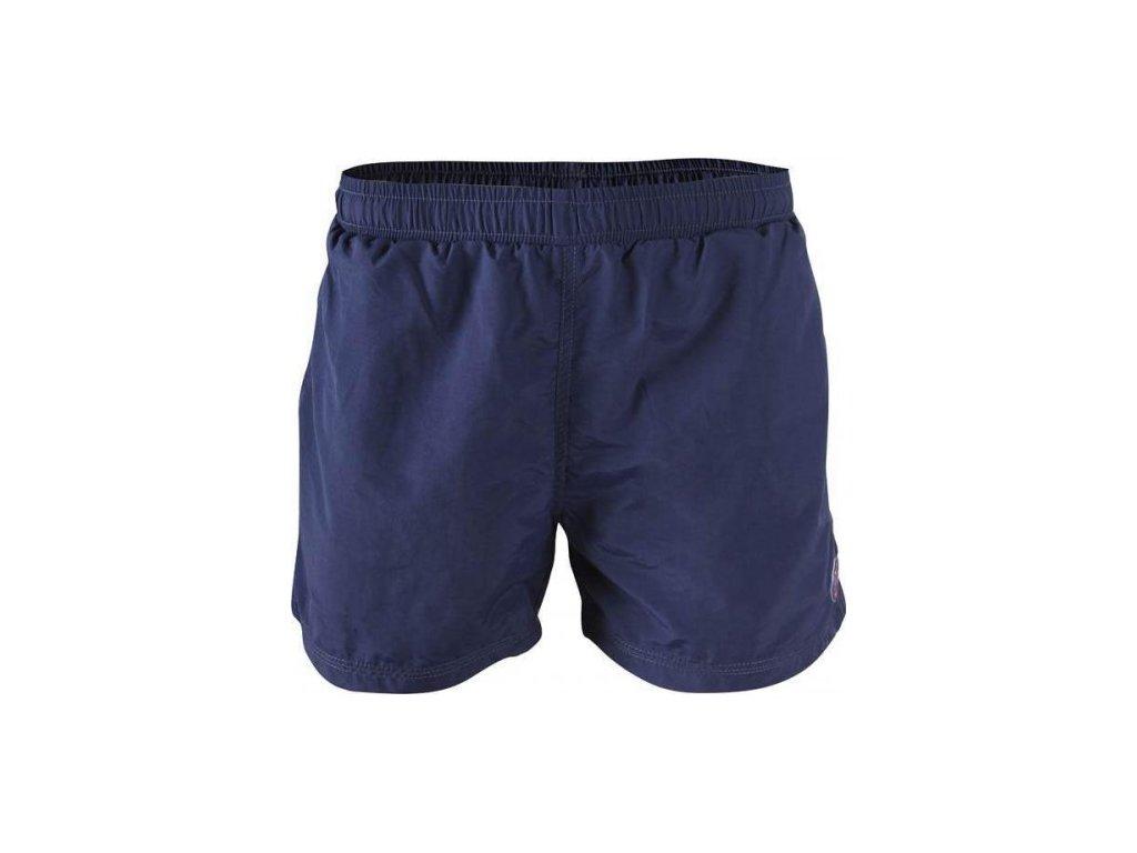 MARINE - pánské plážové šortky - modré