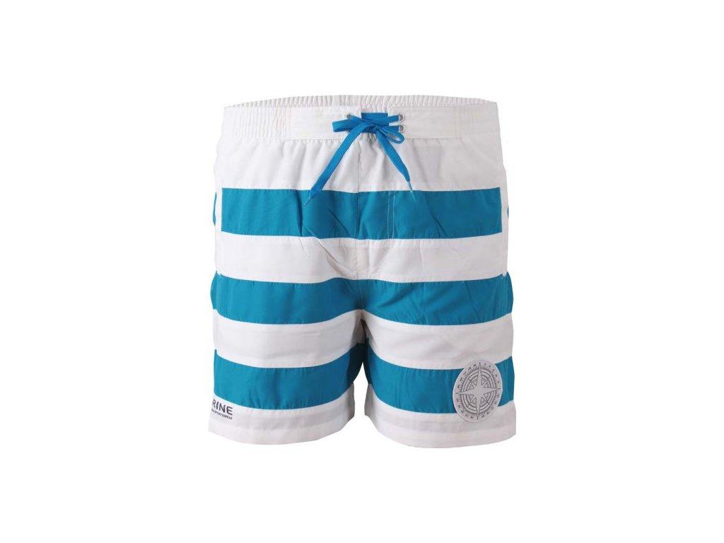 MARINE-pánské plážové šortky - modré