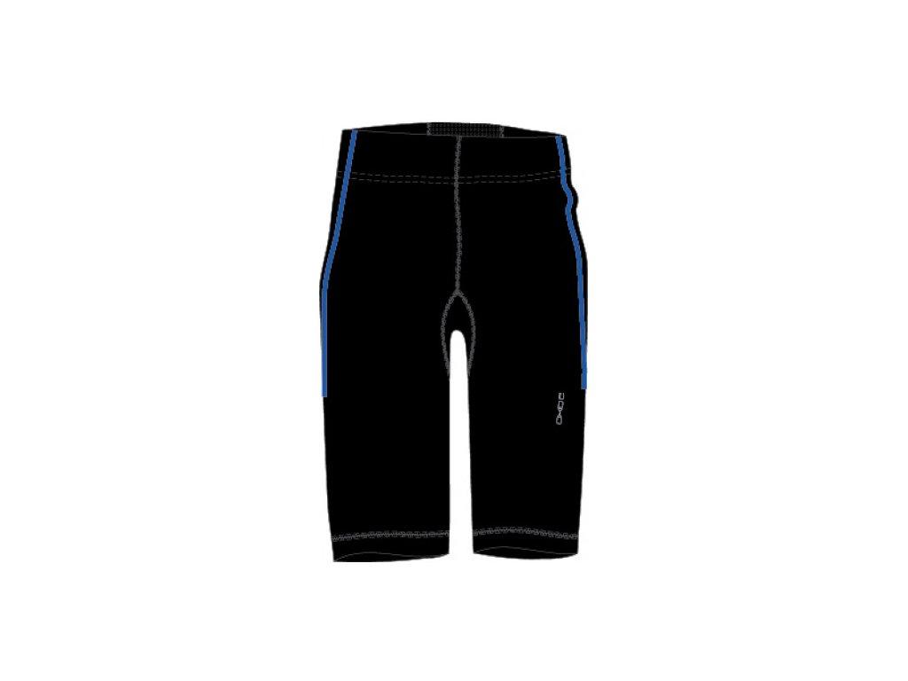 OXIDE - pánské elastické kalhoty 3/4 - černomodré