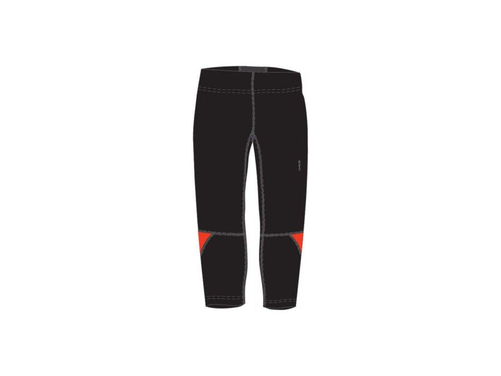 OXIDE - pánské elastické kalhoty 3/4 - černé
