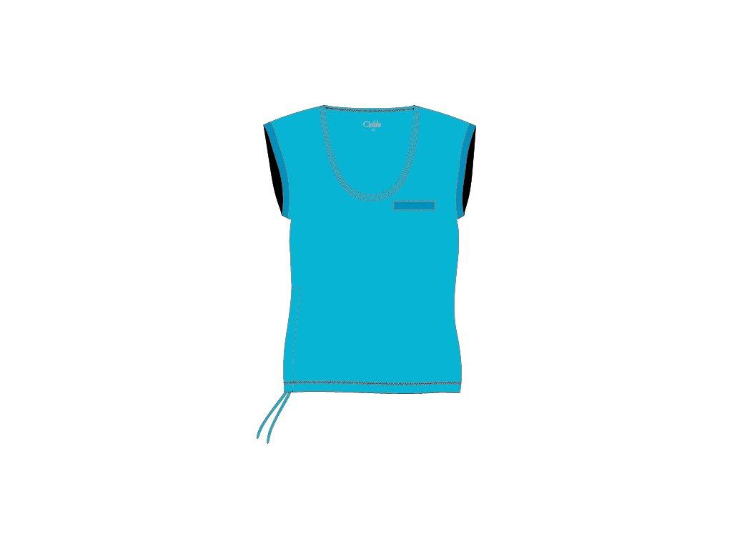OXIDE - dámské triko aerobic OT - tyrkysové