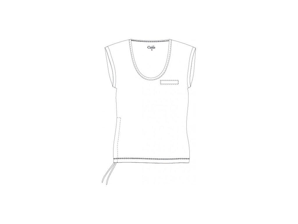 OXIDE-dámské triko aerobic OT - bílé