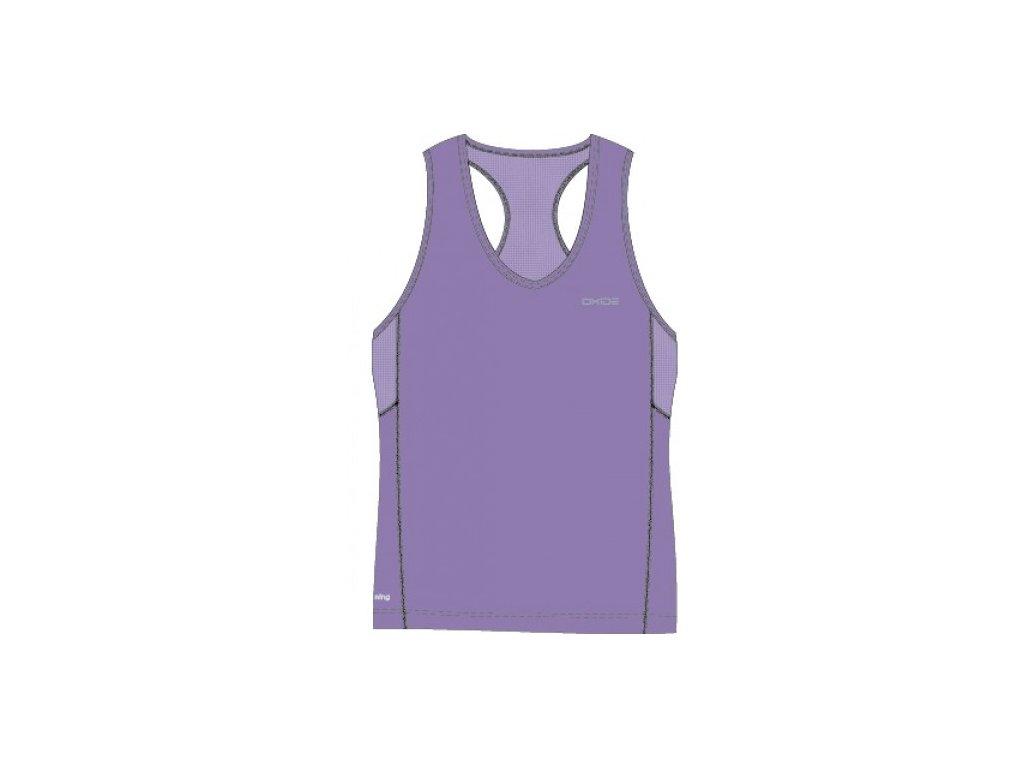 OXIDE-dámský singlet X-Cool, OT - fialový