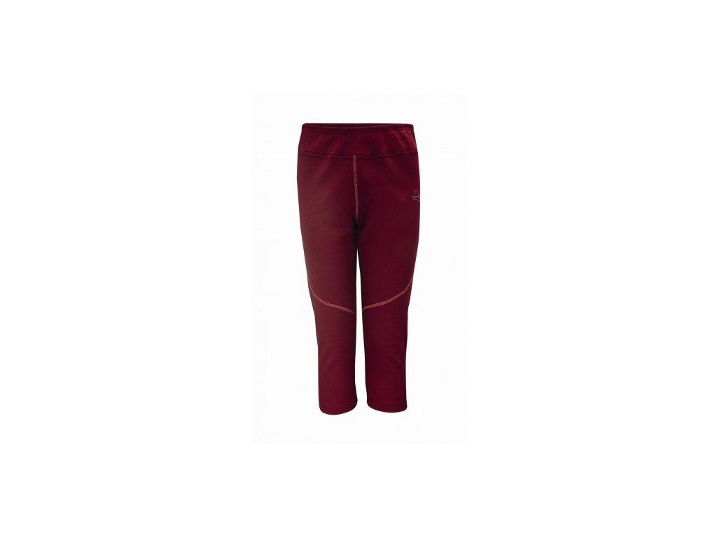 DUVED- 3/4 kalhoty(1.vrstva) - rezavá