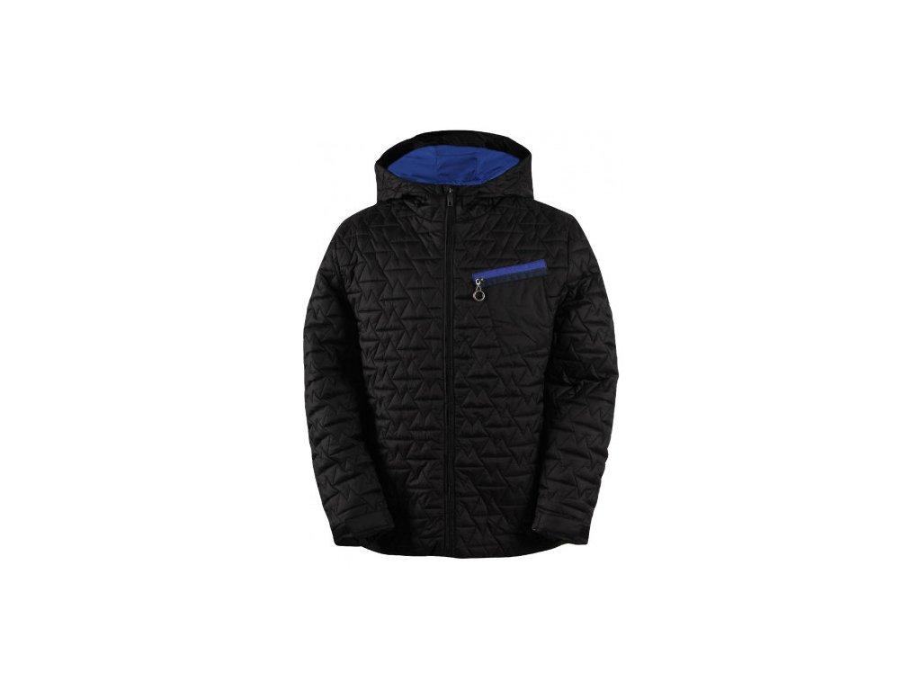 BYGGET - pánská lehká zateplená bunda (DWR) - černá
