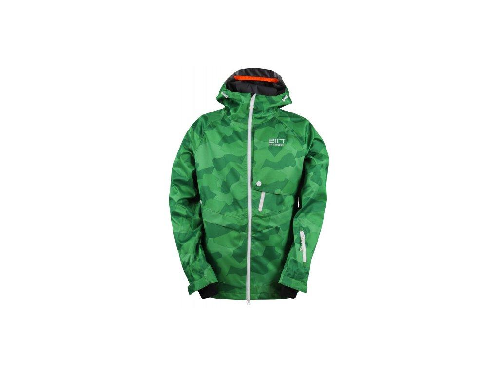LIT -ECO 3L pánská lyžařská bunda - zelená