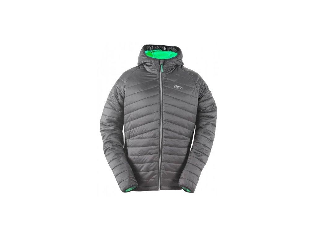 RUTVIK - prošívaná, lehká zateplená bunda, pánská - šedá