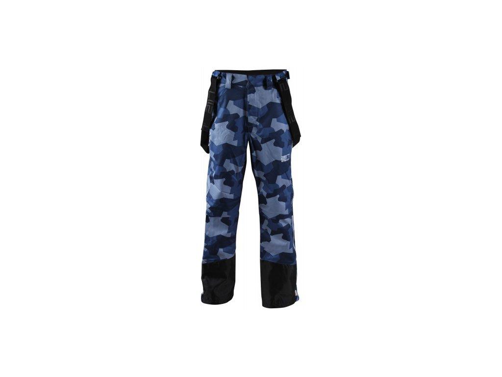 LIT - ECO 3L pánské lyžařské kalhoty - modré