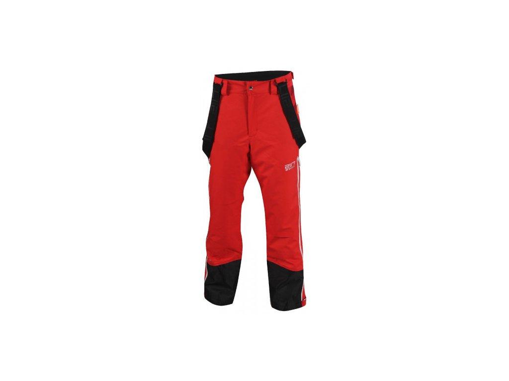 OPE - ECO pánské lyžařské kalhoty - červené