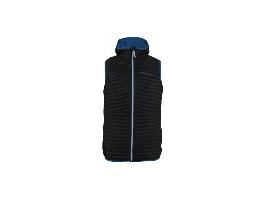 BIERKE - pánská péřová vesta - černá