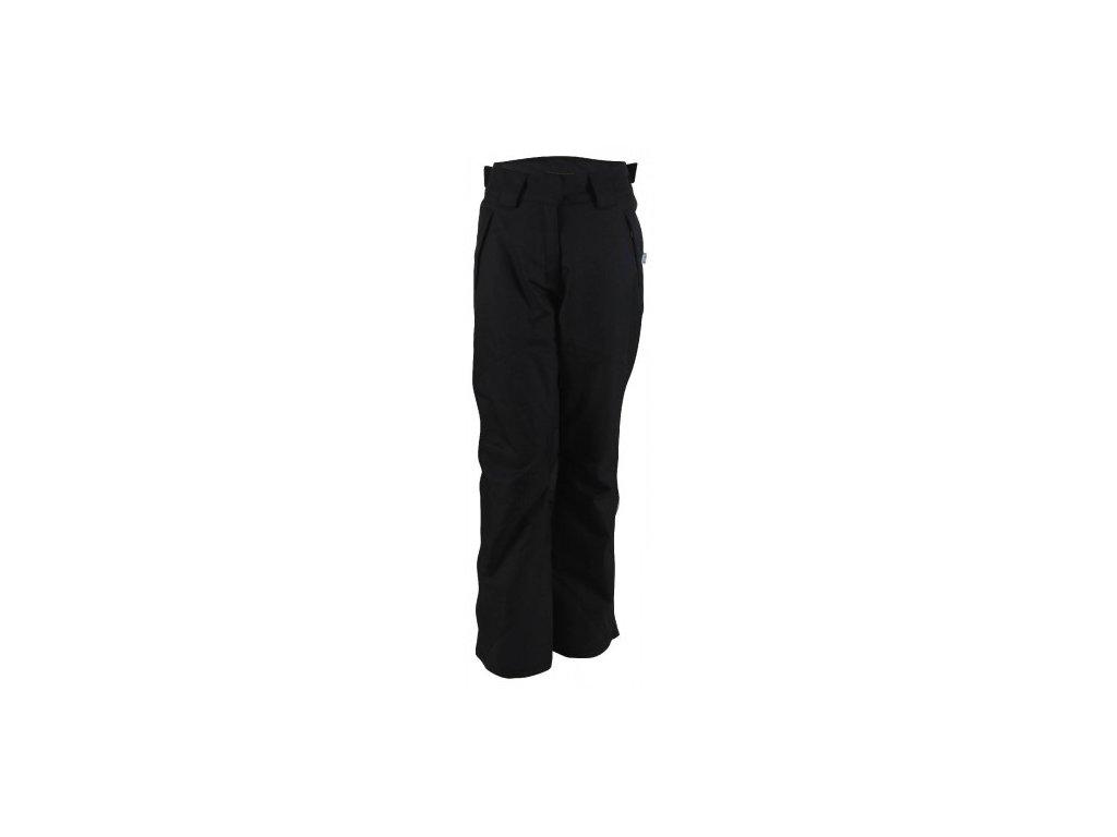 AKKAN - dámské lyžařské kalhoty - černé tkané