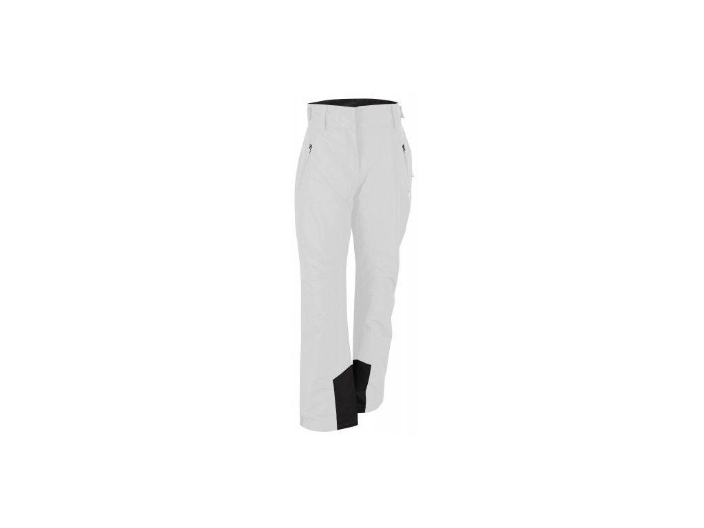 STALON - dámské lehké zateplené lyžařské kalhoty - bílé