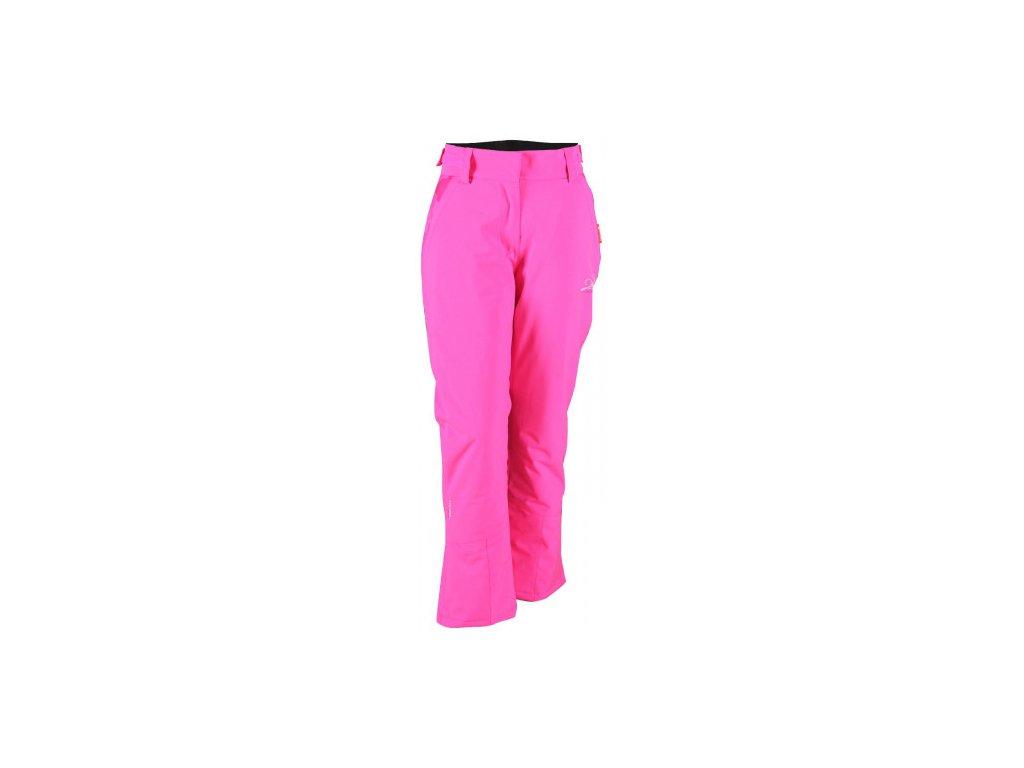 RANSBY ECO - dámské lyžařské kalhoty - růžová