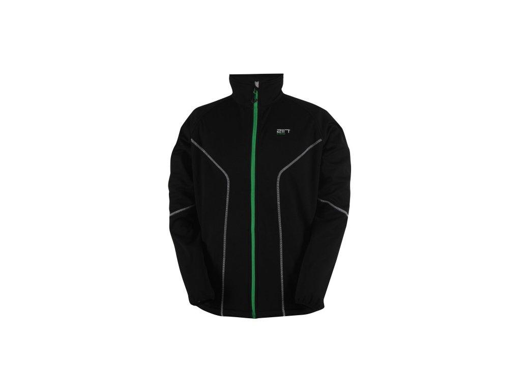 VIRBO - pánská softshelová bunda - černá