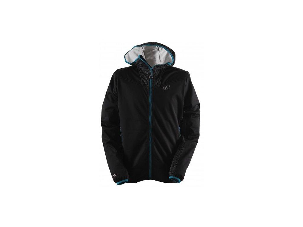 FÄRILA - pánská softsheelová bunda - černá