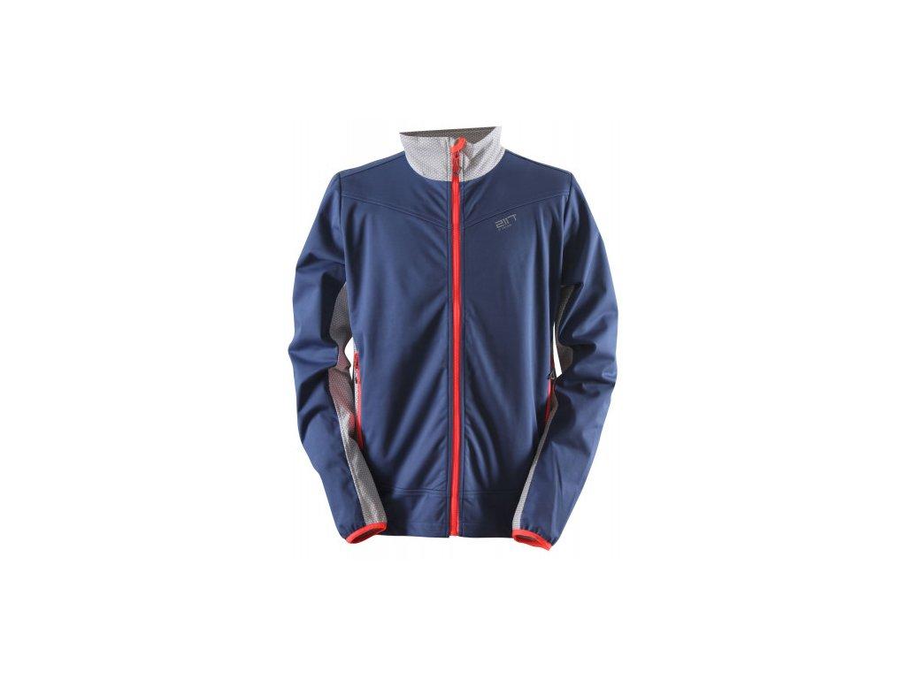 HYTTEBO - pánská softshellová bunda - modrá