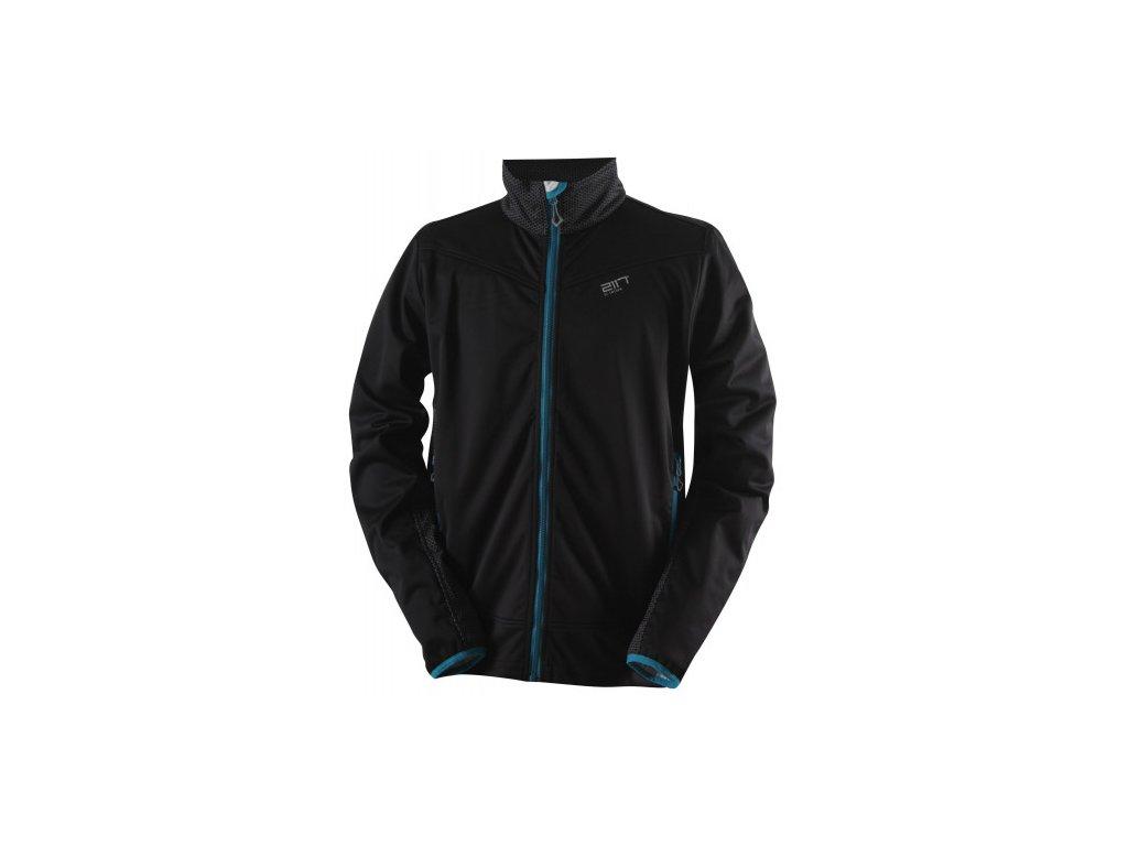 HYTTEBO - pánská softshellová bunda - černá