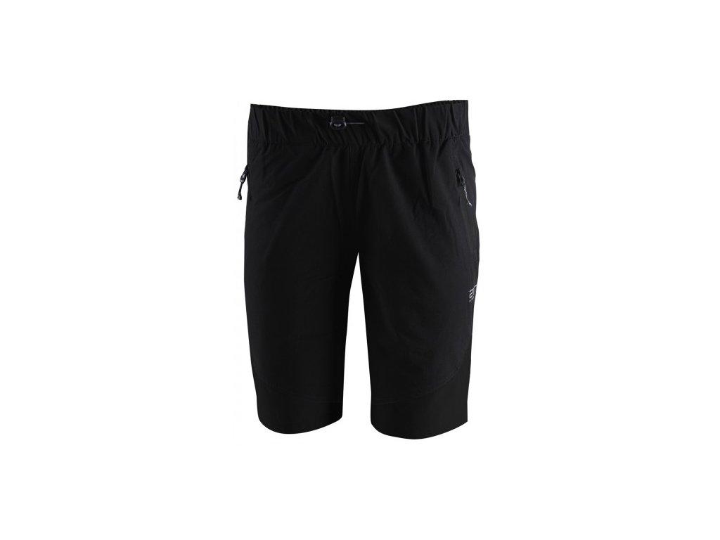 SIL -pánské outdoor. kalhoty krátké - Black solid