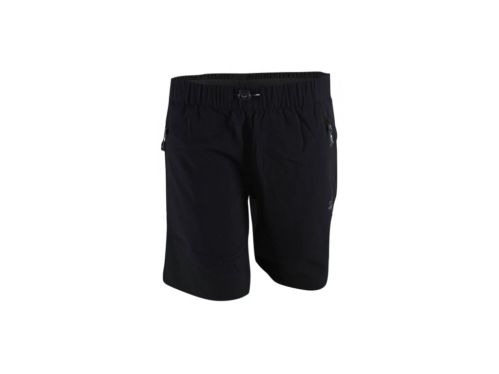 SIL -dámské outdoor. kalhoty krátké - black solid