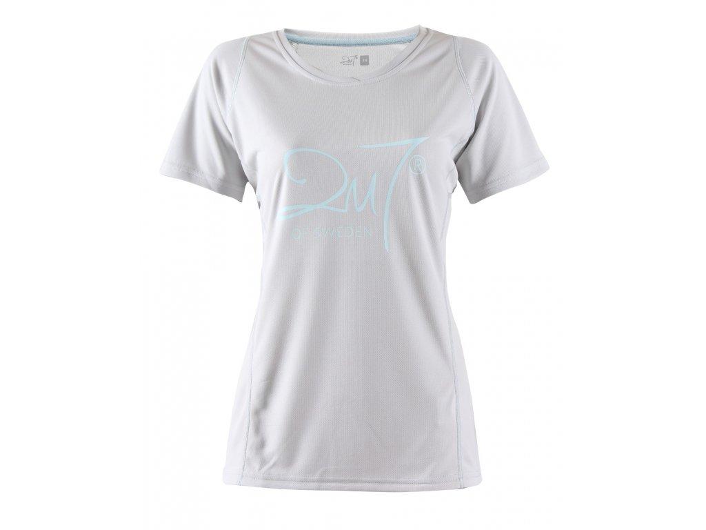 TUN - dámské funkční triko s krátkým rukávem - šedé