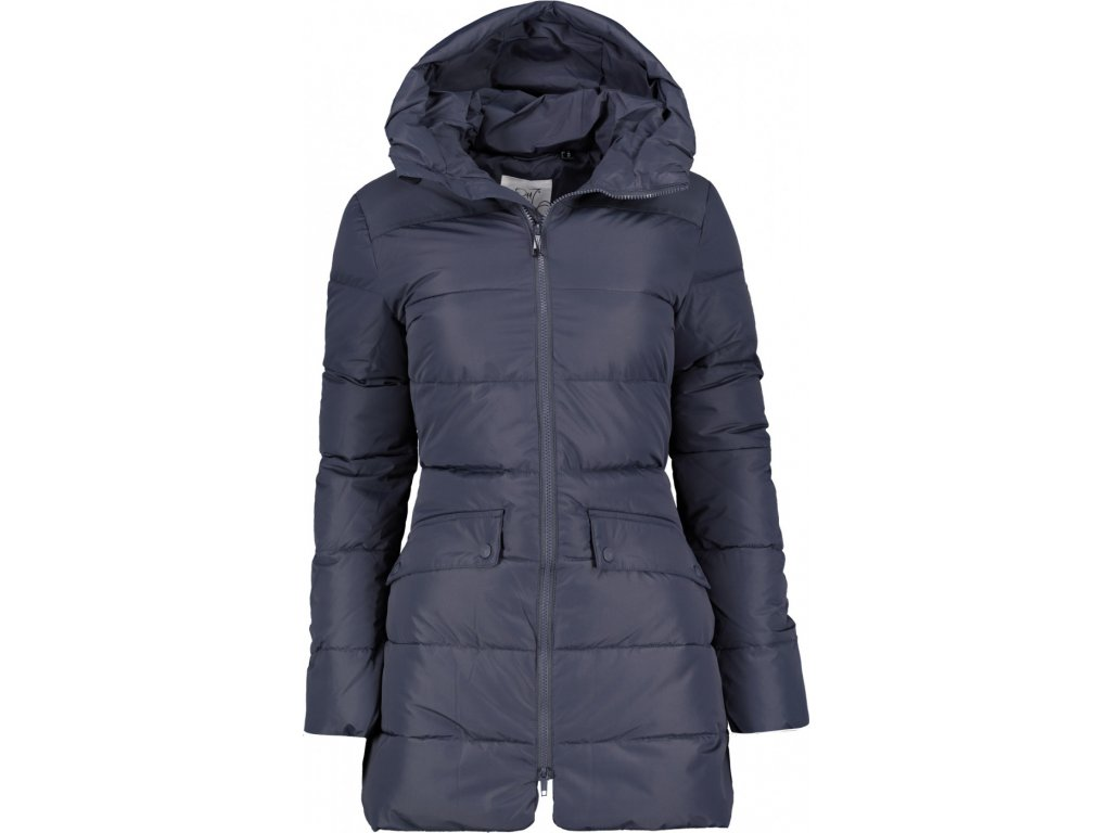 BJÖRKAS - dámský zateplený kabát (Du Pont Sorona) - ink