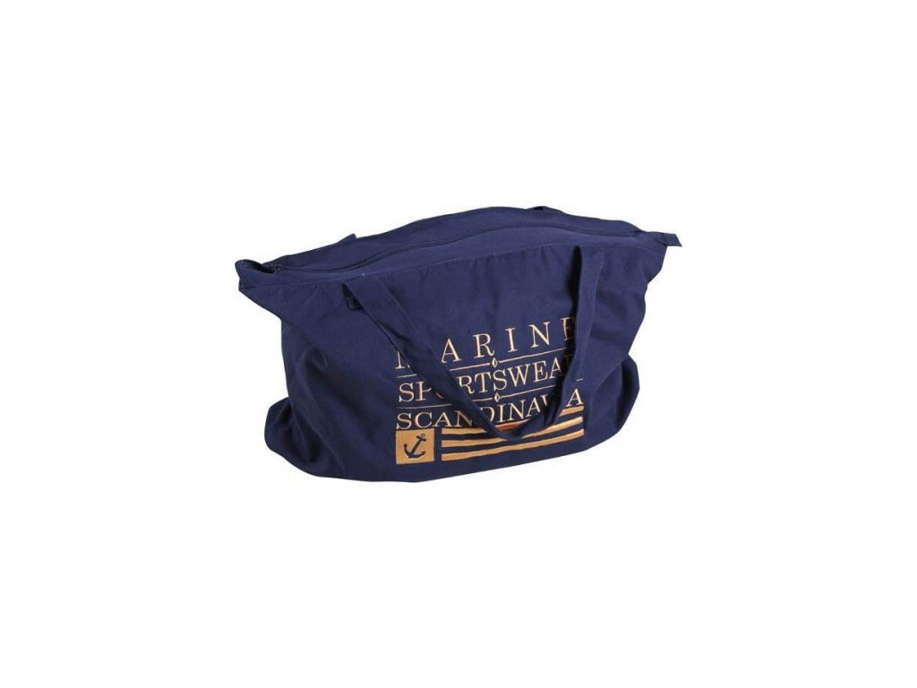 MARINE- BEACH bag - modrá