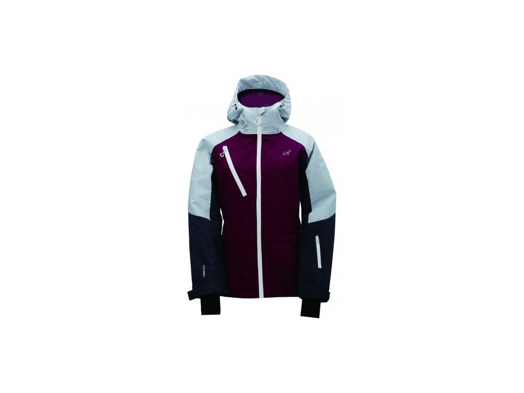 GRYTNÄS- dámská lyž.zateplená bunda (15000 mm) - růžová