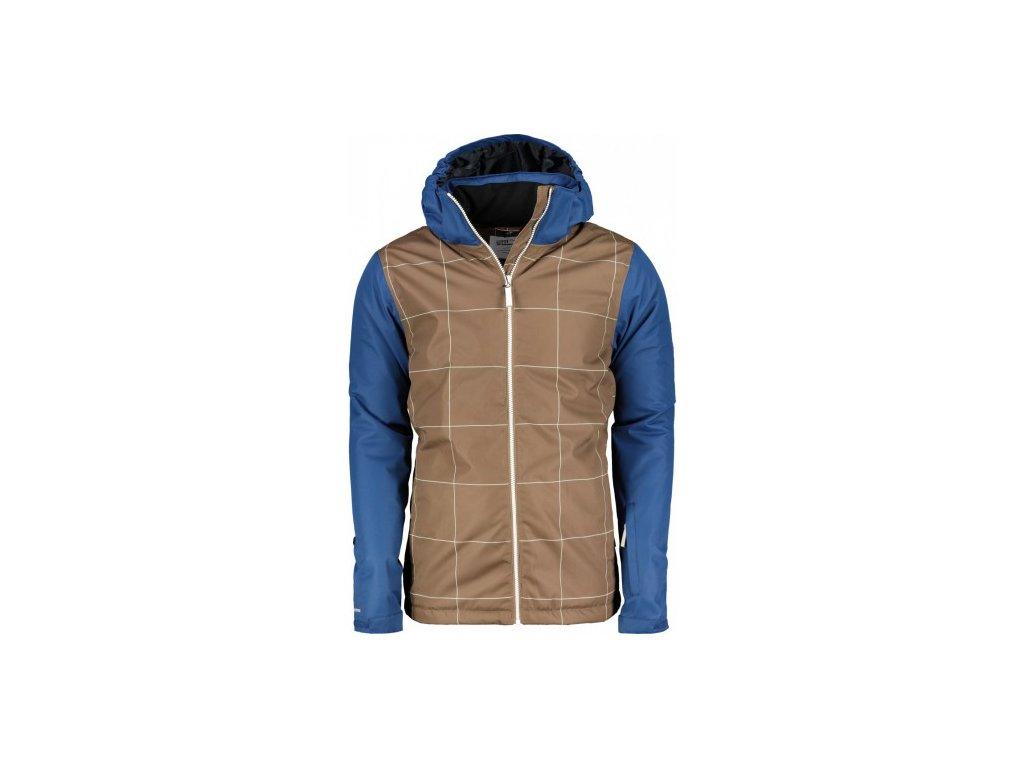 TÄLLBERG - pánská zimní lyžařská/SNB bunda (10000 mm) - hnědá