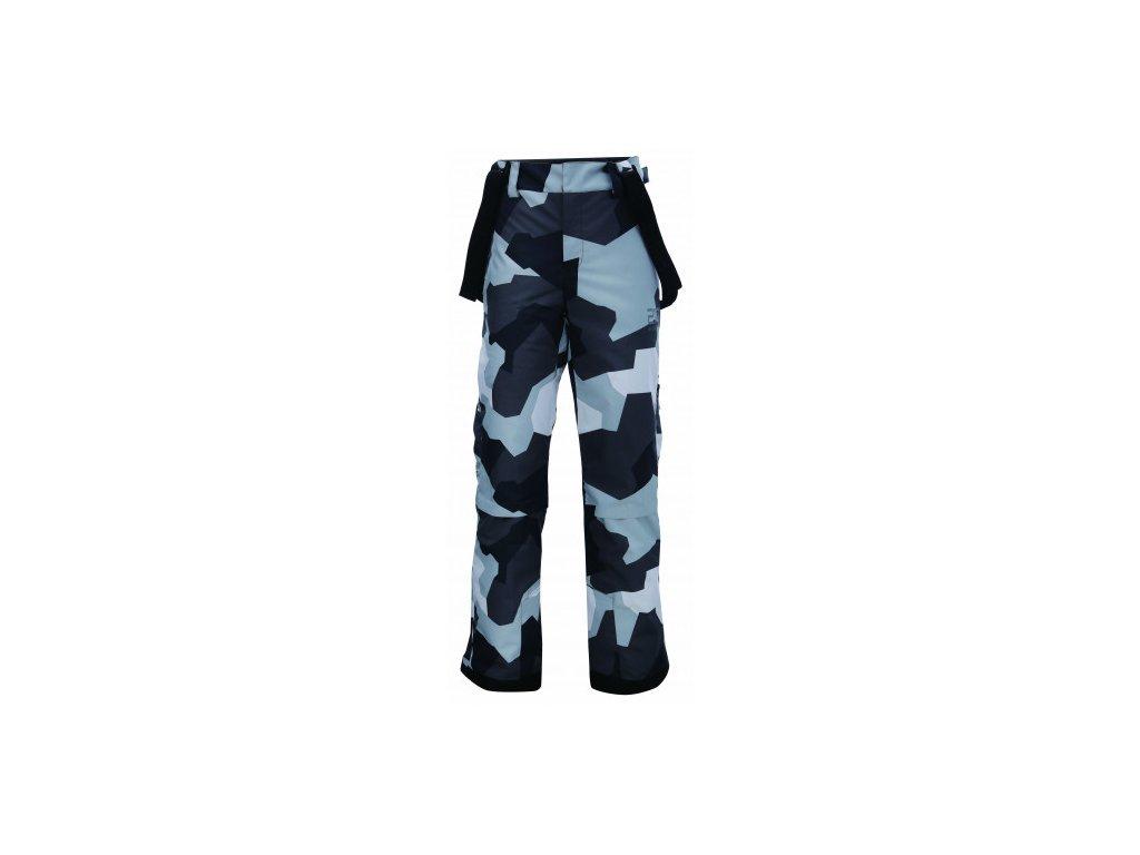LUDVIKA - ECO pánské lyž.kalhoty (20000 mm) - barva camo (maskáče)