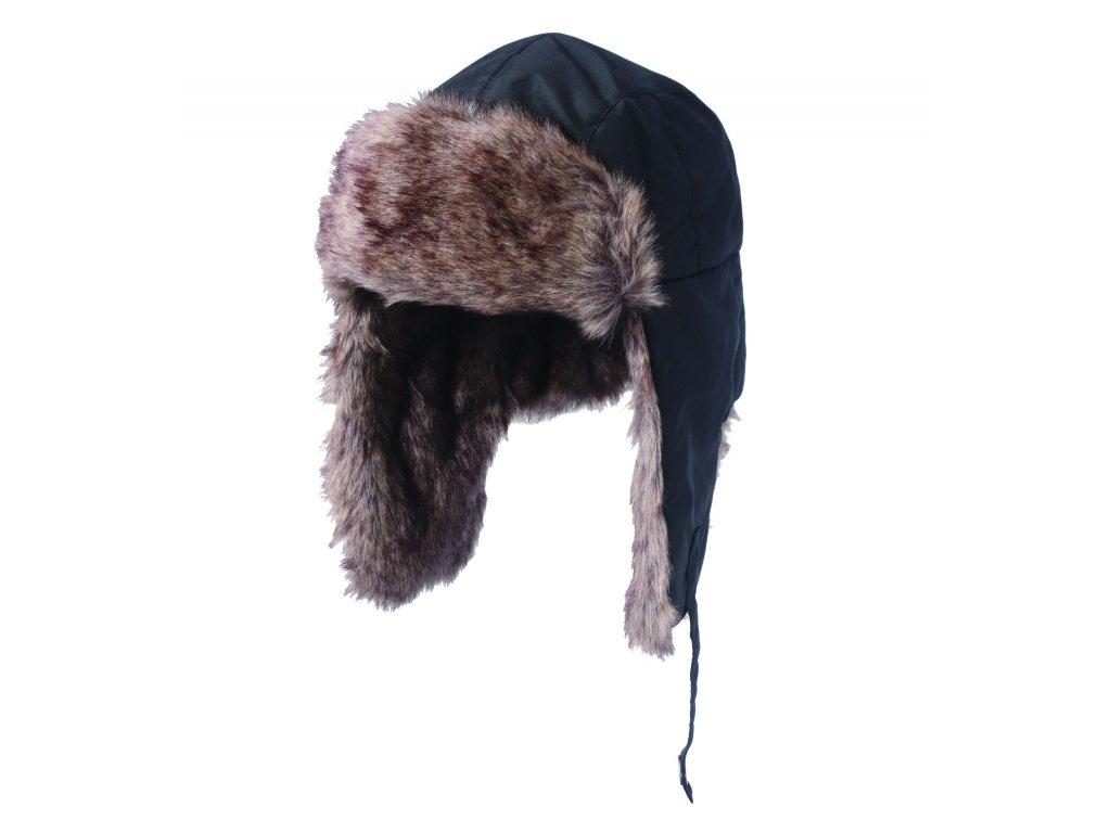 AVIATOR CAP čepice SVĚTLE ŠEDÁ