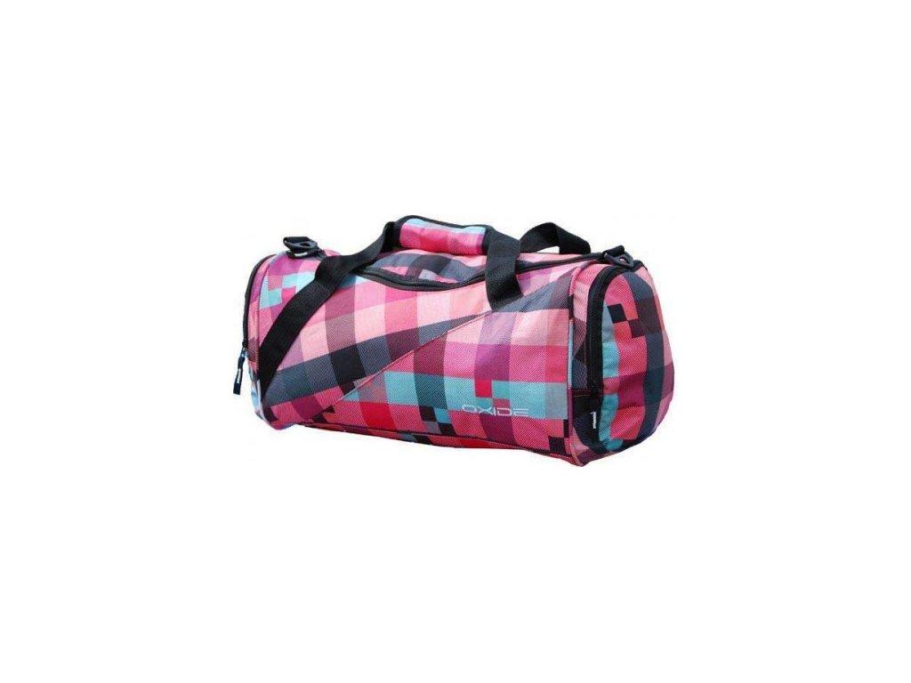 OXIDE - sportovní taška - coral comb