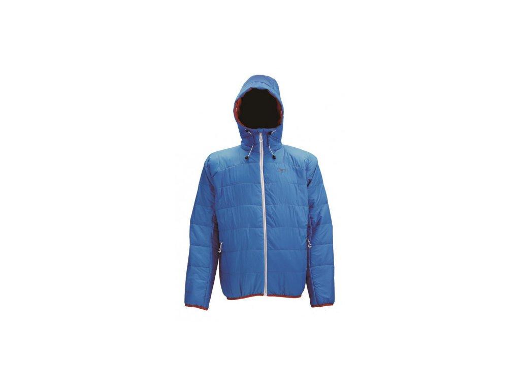 ANGE - pánská izolační bunda - modrá