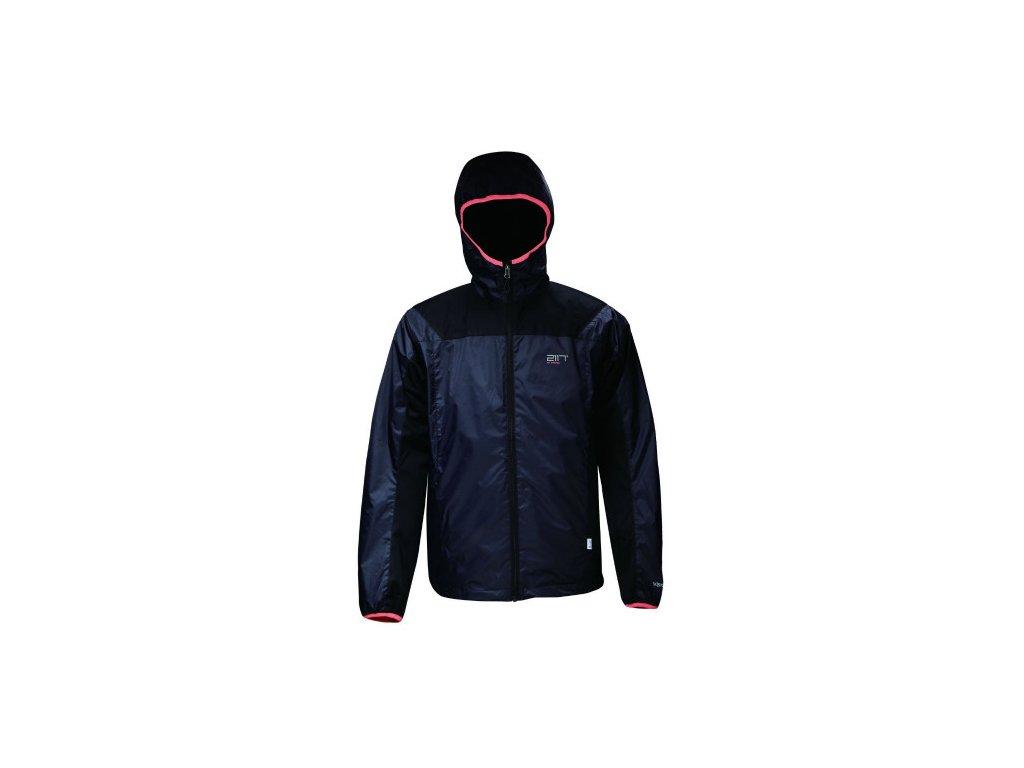 JÄRPEN - pánská hybridní bunda - černá