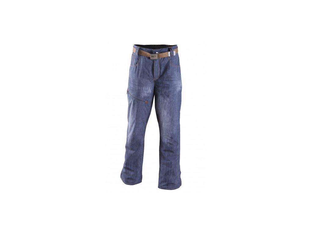 SIRGES - pánské lehké zateplené lyžařské kalhoty - denim