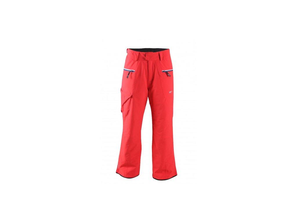 ÄNGSÖ - pánské lehké zateplené lyžař.kalhoty - červené