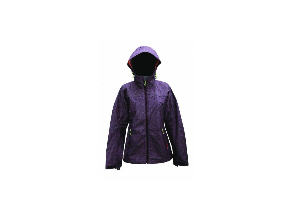 ARENTORP - dámská ECO outdoor bunda - fialová