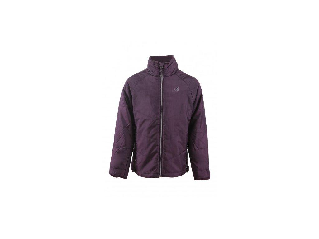 SATTAJÄRVI -dívčí sportovní bunda - fialová