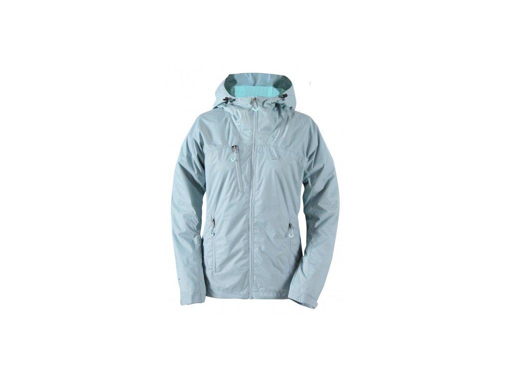 LIDKÖPING - dámská outdoorová bunda s kapucí - modrá
